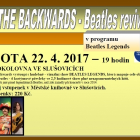 THE BACKWARDS- Beatles revival 22.4.2017